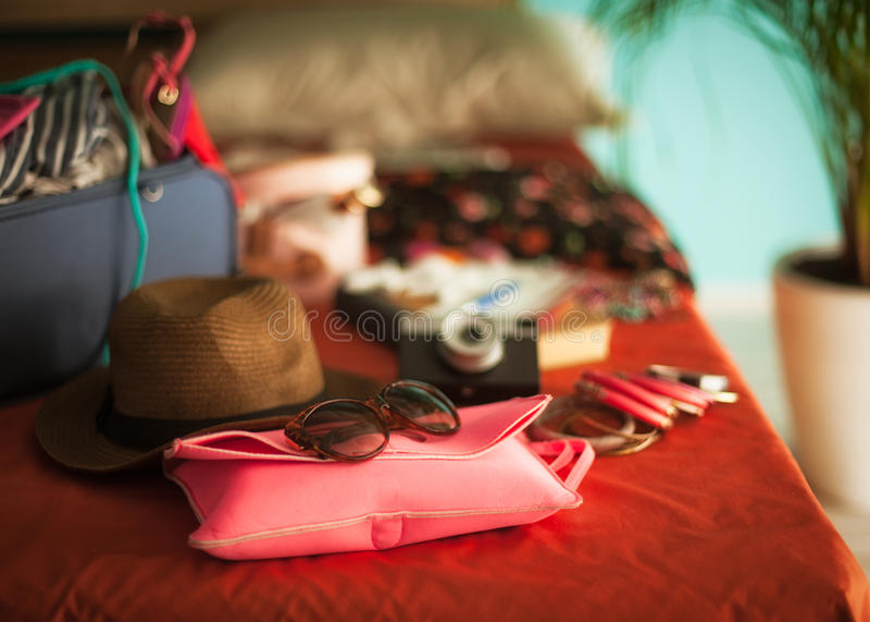 Apronte por férias de verão imagens de stock royalty free