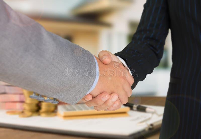 Aprovação de empréstimo hipotecário imagem de stock royalty free
