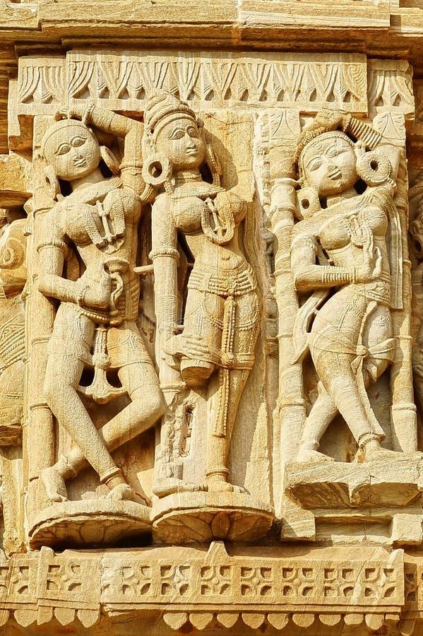 Apsara στο οχυρό Cittorgarh, Ινδία στοκ εικόνα με δικαίωμα ελεύθερης χρήσης