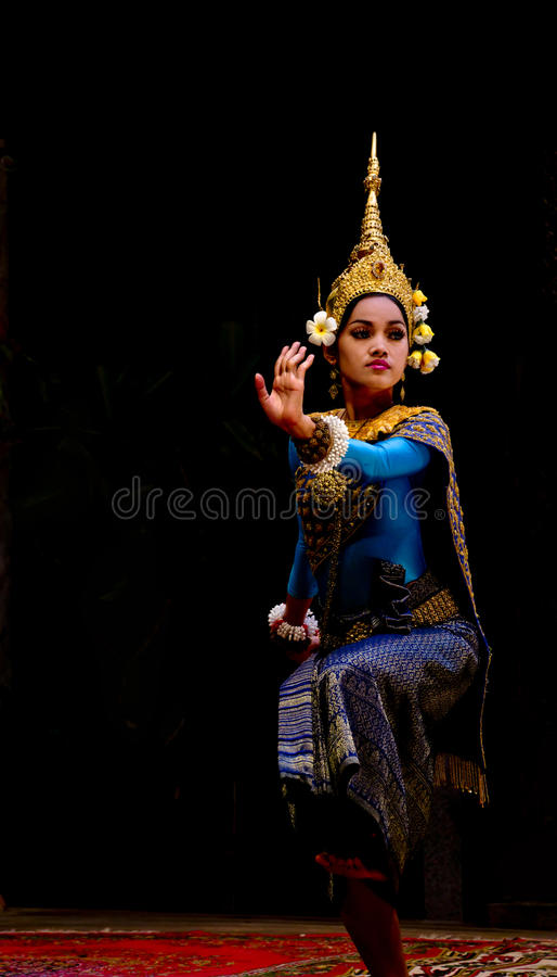 Download Apsara dancer editorial photo. Image of girl, ballet - 25236556