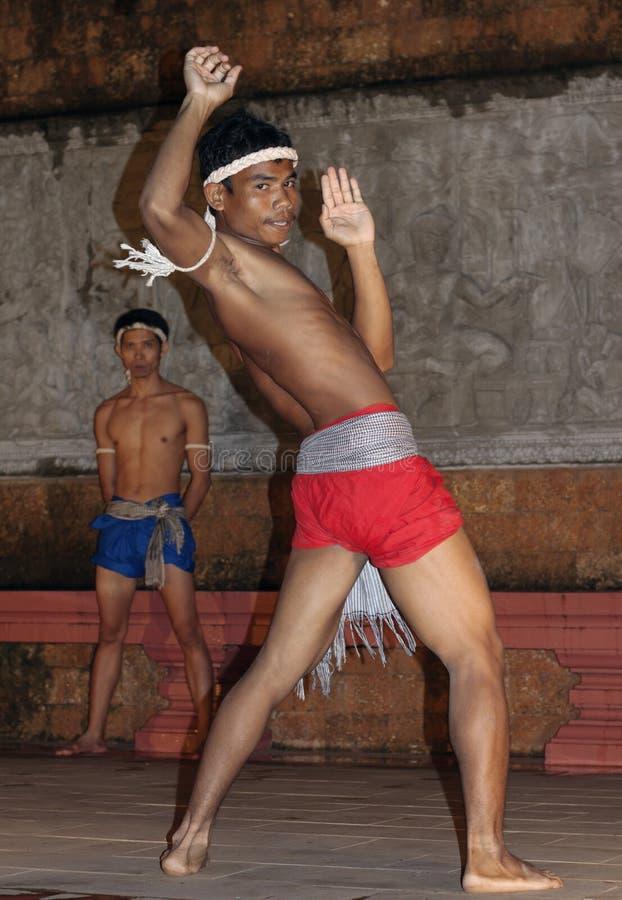 Download Apsara Dancers Kickboxing editorial stock photo. Image of thai - 25383063
