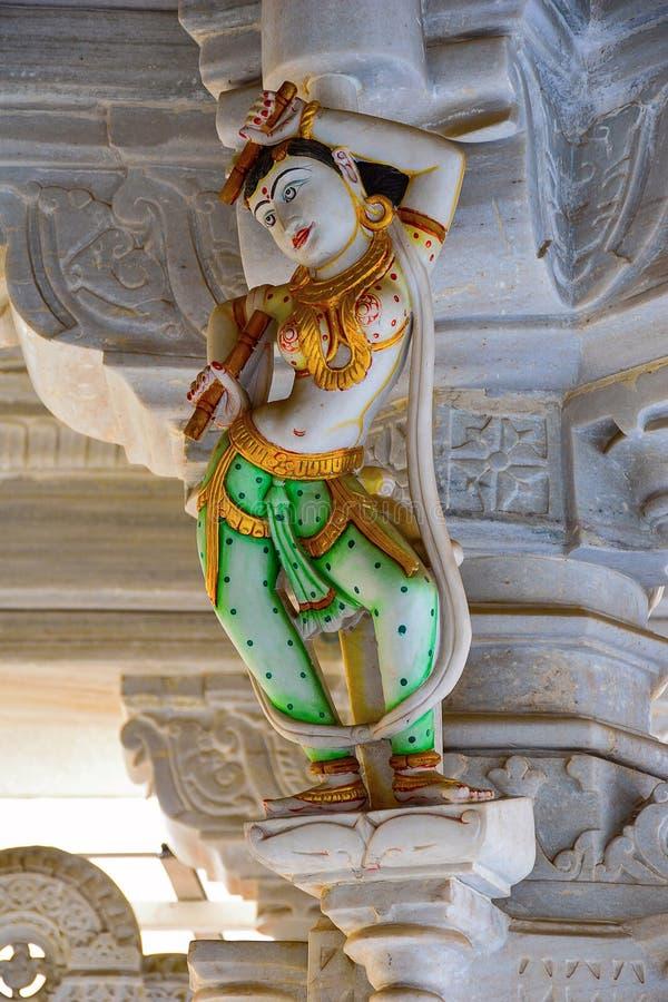 Apsara Statue, Ashapura Mataji temple, Katraj road, Pune. Maharashtra royalty free stock photos