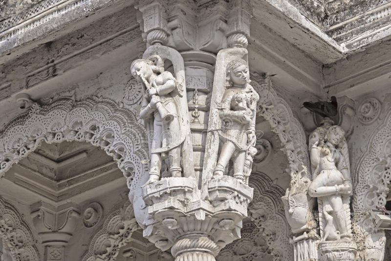Apsaras em Ahmedabad imagens de stock royalty free