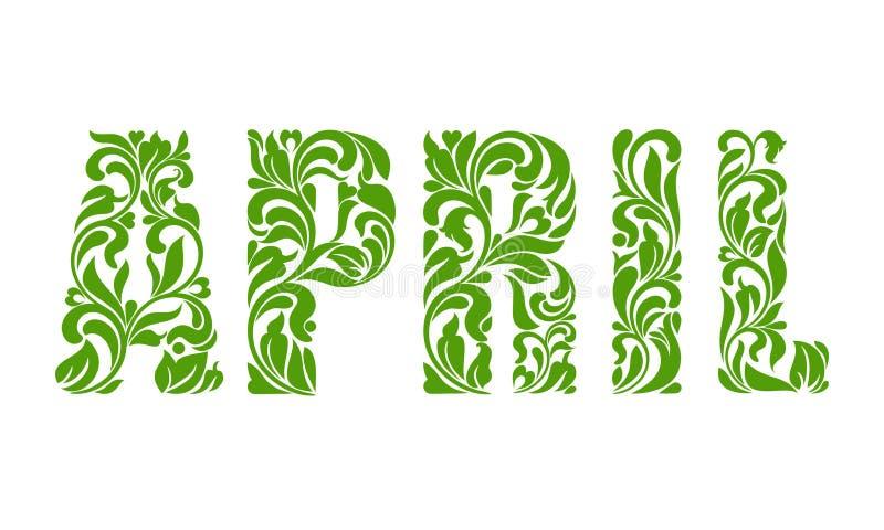 apse Διακοσμητική πηγή τους στροβίλους και τα floral στοιχεία που απομονώνονται με ελεύθερη απεικόνιση δικαιώματος