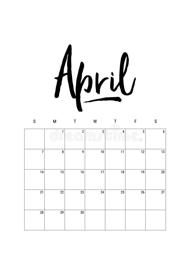 apse Ημερολογιακός αρμόδιος για το σχεδιασμό 2019, ενάρξεις εβδομάδας την Κυριακή Μέρος των συνόλων 12 διανυσματικού προτύπων μην διανυσματική απεικόνιση