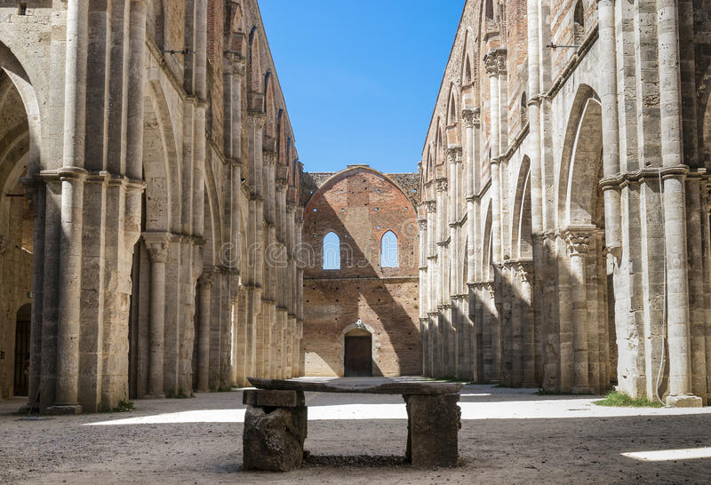 Download Apse In The Abbey Of San Galgano, Tuscany. Stock Image - Image of church, nave: 25365907