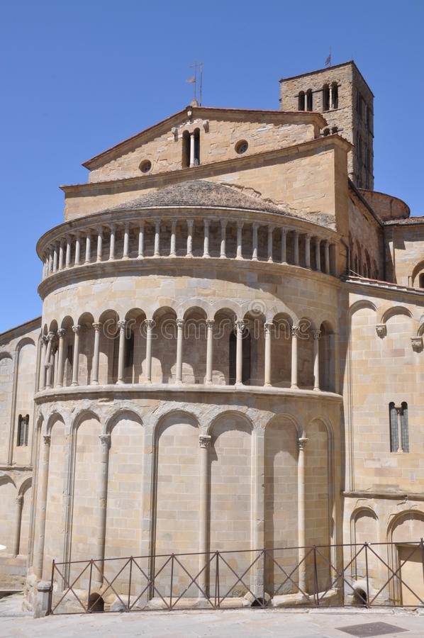 Apse de Arezzo imagen de archivo