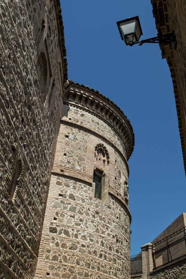 Apsis von Santa Ursula-Kirche, Toledo, Spanien stockbild