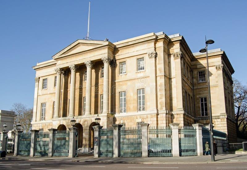 Apsley-Haus, Hyde Park Corner, London lizenzfreie stockfotografie