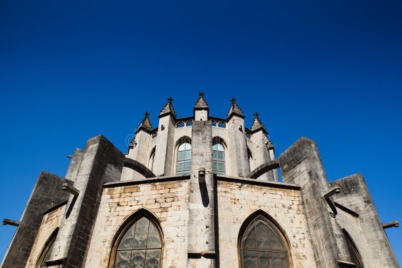apsydy katedra Girona zdjęcie royalty free