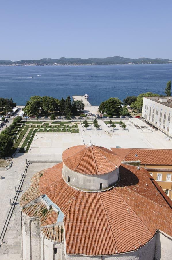 Apsydy kościelny San Donato zadar Dalmatia Croatia Europe obraz stock