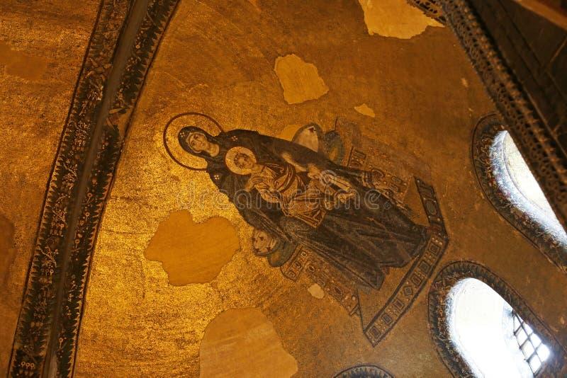 Apsydy mozaika zdjęcie royalty free