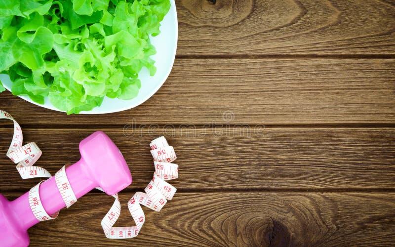Aptidão, comer saudável e conceito ativo dos estilos de vida, hydroponi imagens de stock royalty free