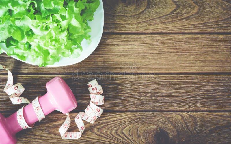 Aptidão, comer saudável e conceito ativo dos estilos de vida, hydroponi foto de stock royalty free