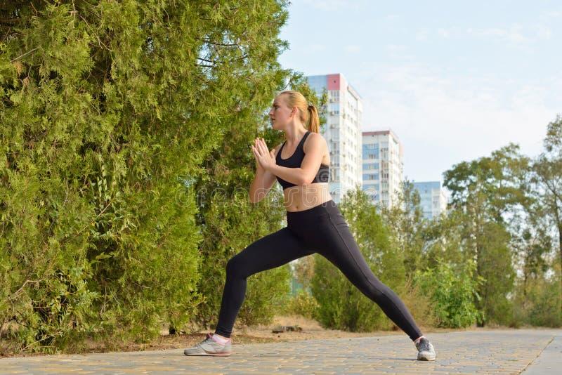 Aptidão exterior, forma, exercício, conceito da saúde foto de stock royalty free