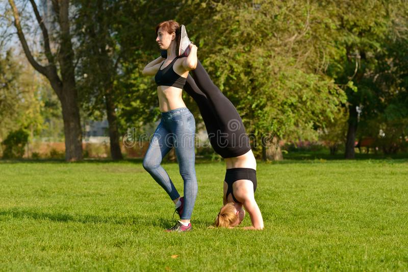 Aptidão exterior, forma, exercício, conceito da saúde imagem de stock