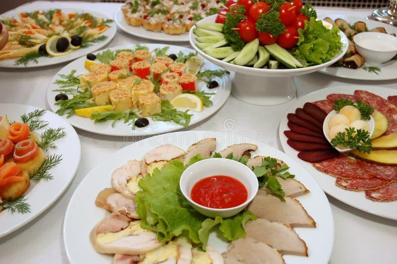 aptitretande mat några royaltyfria bilder