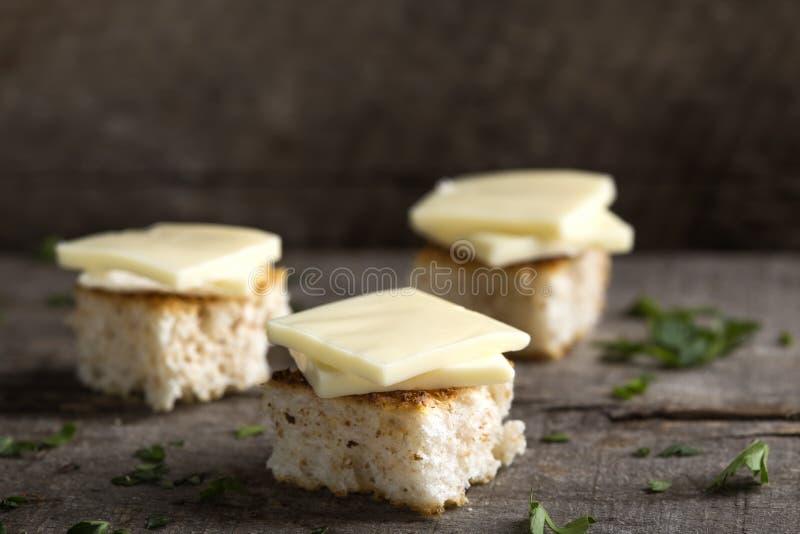 Aptitretare med ost arkivbild