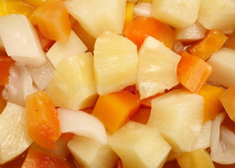 Fruktcoctail arkivfoto