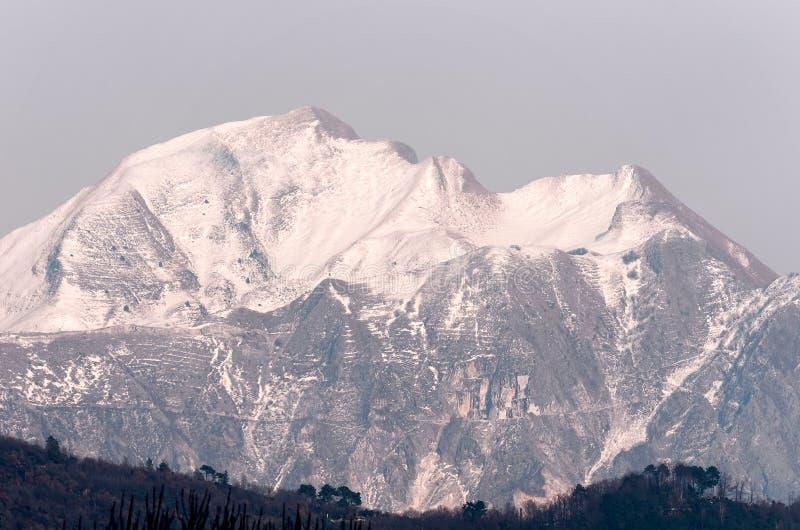 Apuane de Alpi imagens de stock royalty free
