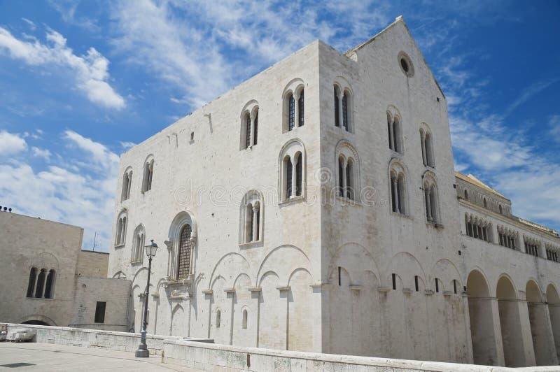 apulia巴里大教堂尼古拉斯st 库存图片