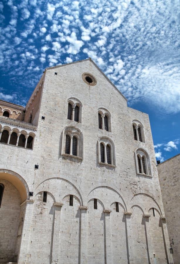 apulia巴里大教堂尼古拉斯st 免版税库存照片