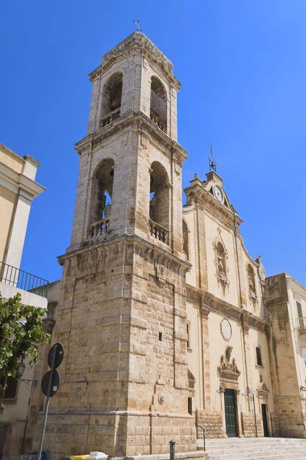 apulia church colle del palo炼狱 图库摄影