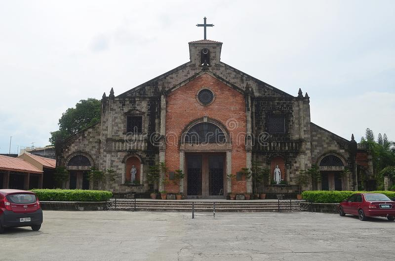 Apung Mamacalulu na cidade de Angeles, Pampanga, Filipinas fotos de stock royalty free