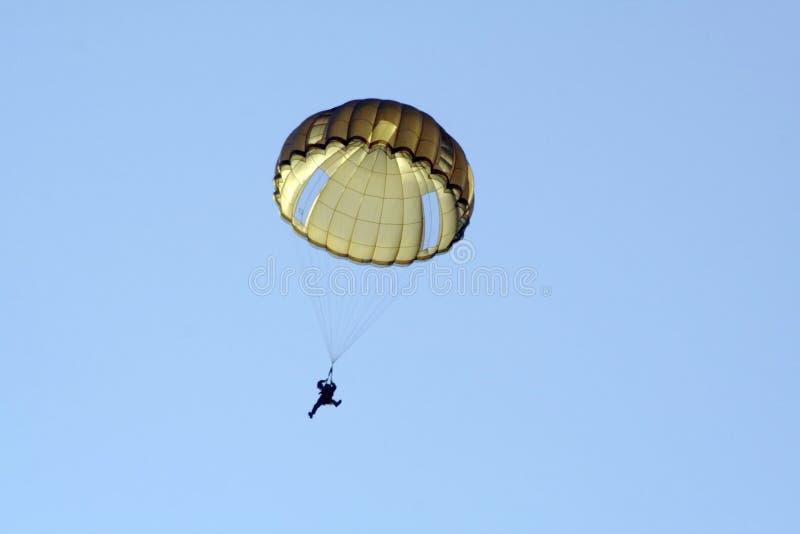 Apuro del paracaídas fotos de archivo libres de regalías
