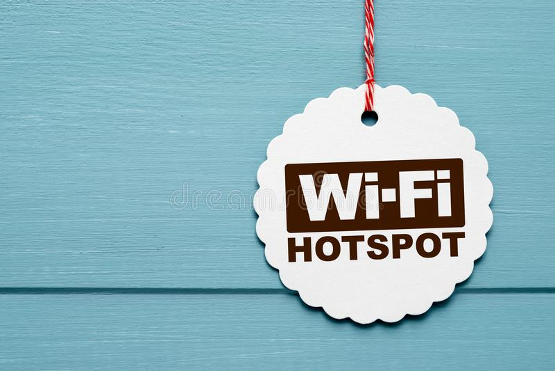 Apuroses del Wi-Fi imagenes de archivo