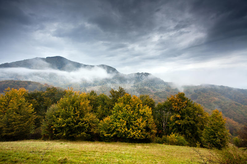 Apuseni landscape. A beautiful landscape in the Apuseni - Romania stock image