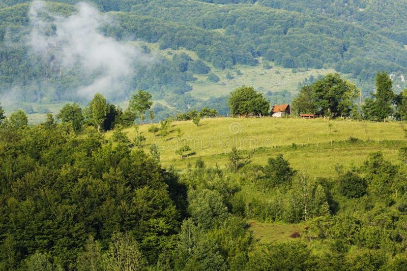 Apuseni  Mountains Landscape Stock Photo