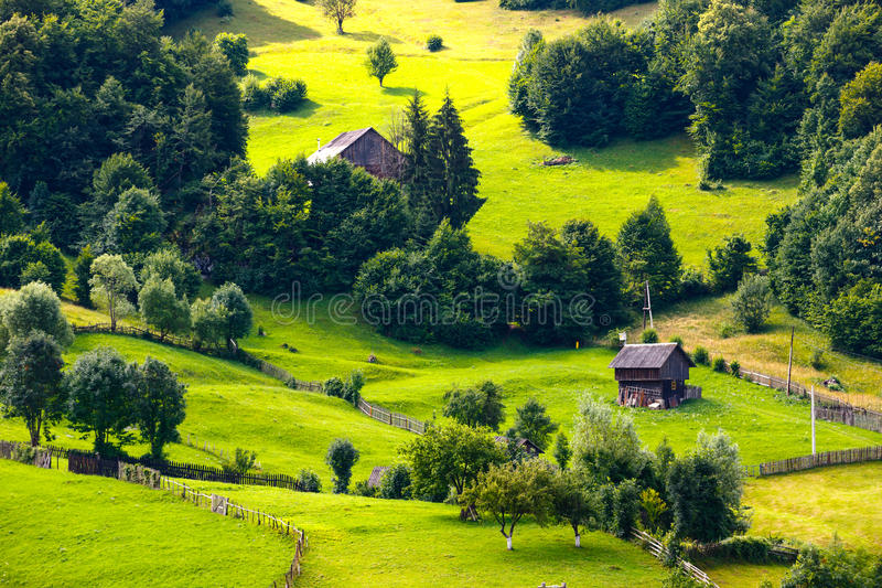 Apuseni Mountains in Romania. Landscape of Apuseni Mountains in Romania royalty free stock image