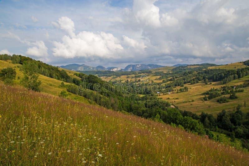 Apusenibergen Roemenië royalty-vrije stock afbeeldingen