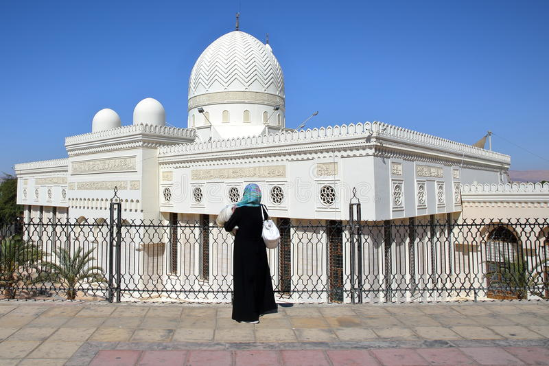 AQABA, JORDAN: Al-Sharif Al Hussein Bin Ali Mosque stock photos