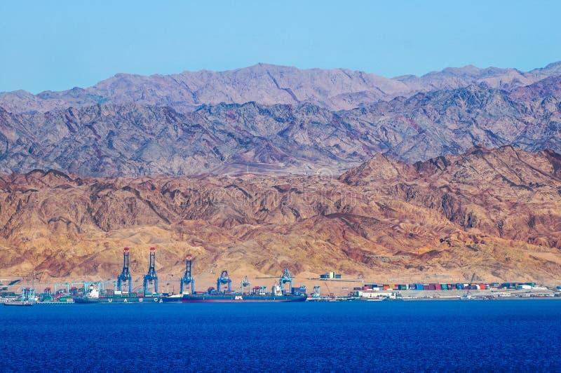 Aqaba in Jordanien lizenzfreie stockfotos