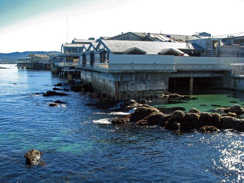Aquário da baía de Monterey em Monterey, Califórnia imagem de stock