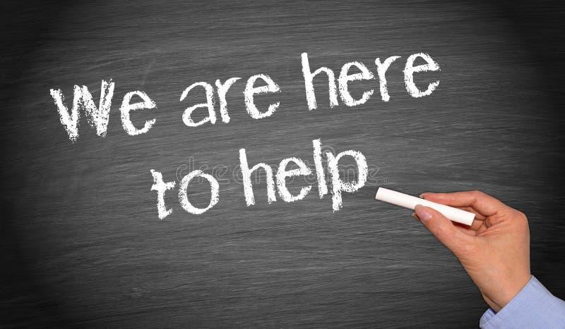 Aquí para ayudar