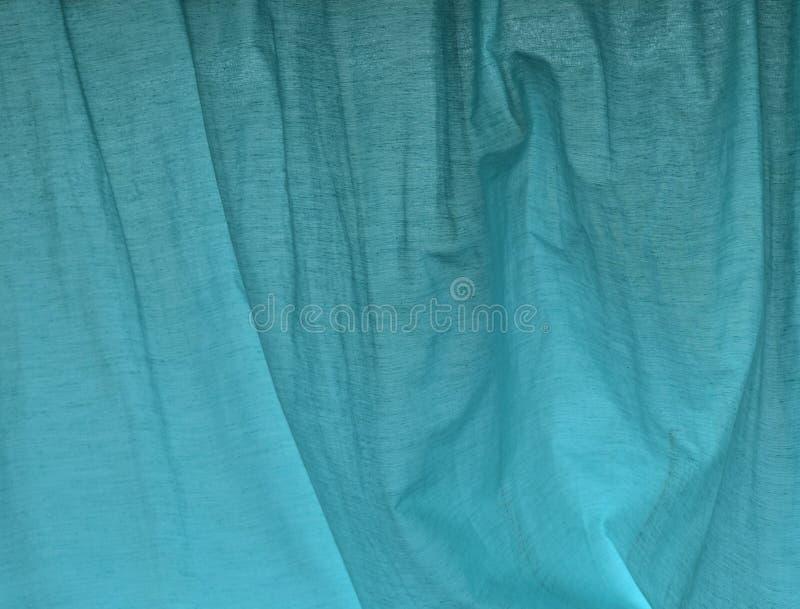Aqua Blue Curtain Background Design royalty-vrije stock afbeeldingen