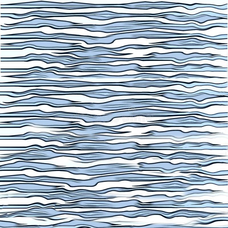 Aqua Blue Tiger Print Texture image libre de droits