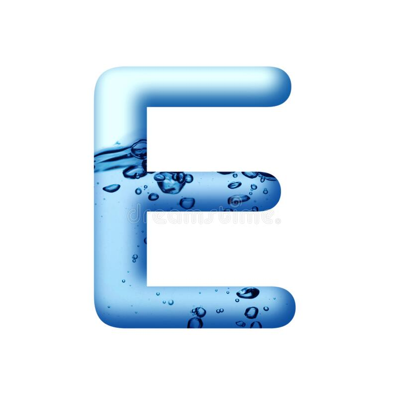 Free Aqua Blue Water And Water Bubble Alphabetic Letter A To Z 1 To10 Stock Photos - 174276873