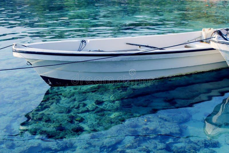 Aqua Canoe stock photography