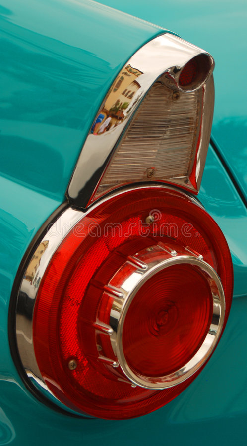 Free Aqua Car Tail Light Stock Photo - 5517960
