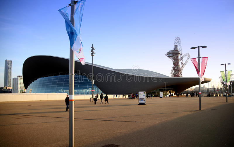 Download Aqua Centre Of London's Olympic Village Editorial Stock Photo - Image: 38806108