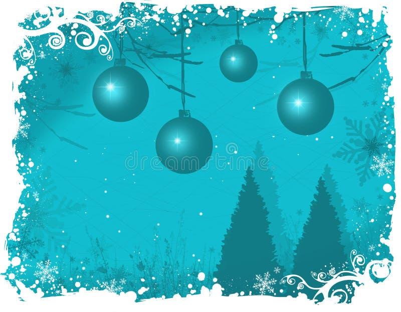 Aqua del país de las maravillas del invierno Nevado libre illustration