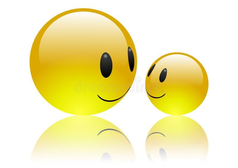 Download Aqua Emoticons - Friendship Stock Illustration - Image: 5770378