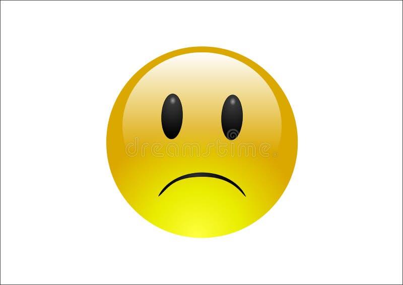Download Aqua Emoticons - Sad stock illustration. Image of heartbroken - 5770395