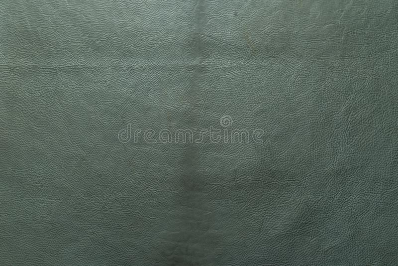 Aqua, Grün, blaue Farbkörnige, starke Kornkalbkuhlederbeschaffenheit und Hintergrund lizenzfreie stockbilder