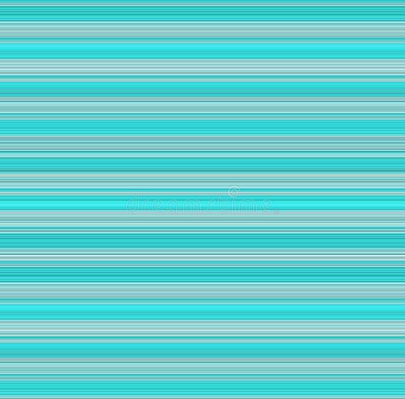 Aqua Gray White Thin Stripe Background ilustração do vetor