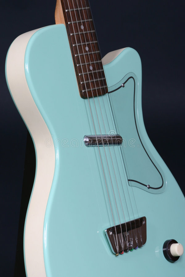 Download Aqua Guitar stock image. Image of musical, play, rock, musician - 109895